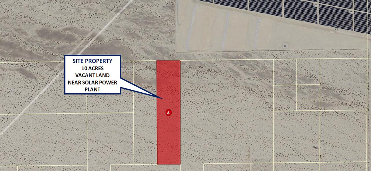 10 Acres ($600/acre) Desert Land close to a Local Solar